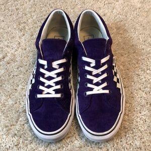 cea19c7e3306 Vans Shoes - ULTRA RARE Vans Lampin Purple Corduroy checkered